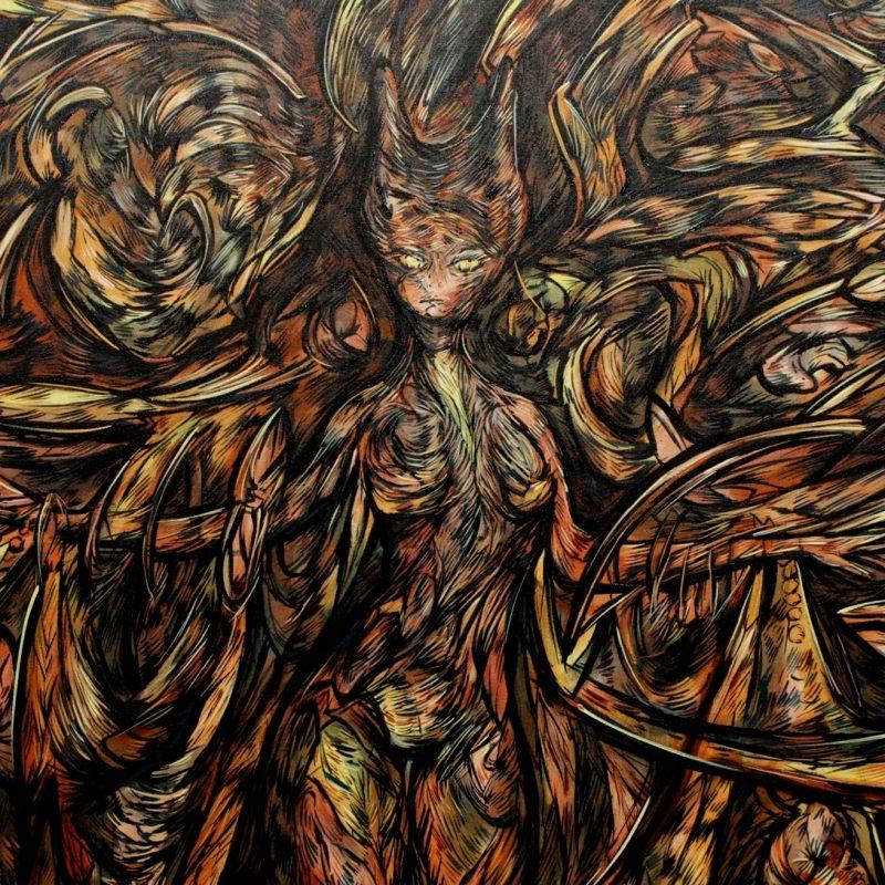 """The Kat Godness"" – New Art Masterpiece by Alejandro Mendez"