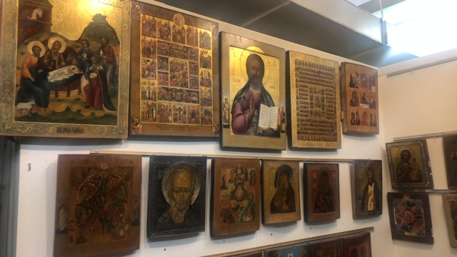 Religious Icons & Artifacts at Vladimir's Antiques