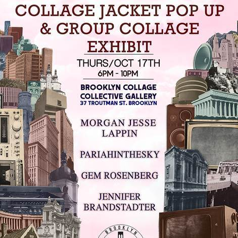 Collage Jacket Pop Up in Brooklyn You Don't Want to Miss!