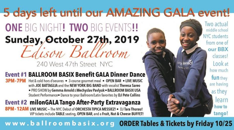 BALLROOM BASIX: A Not-to-Miss Dance Charity Event in NYC