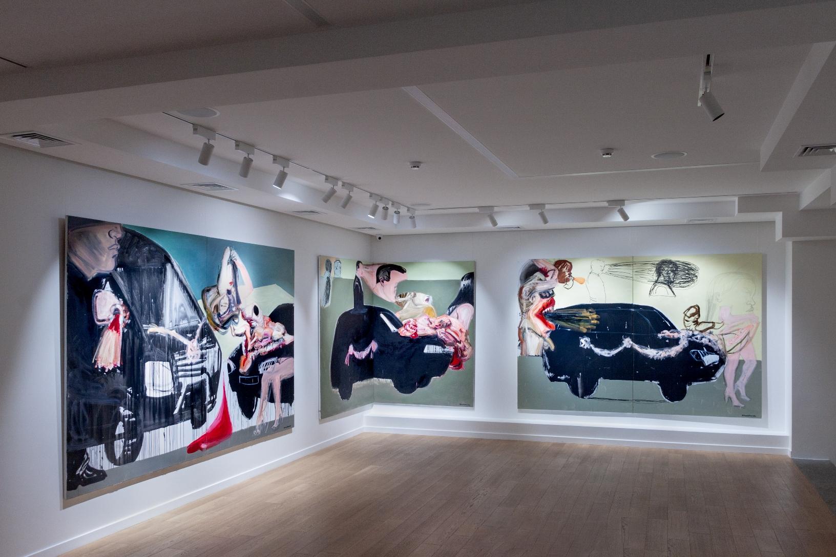 Cutting-Edge Contemporary Ukrainian Art at Voloshyn Gallery