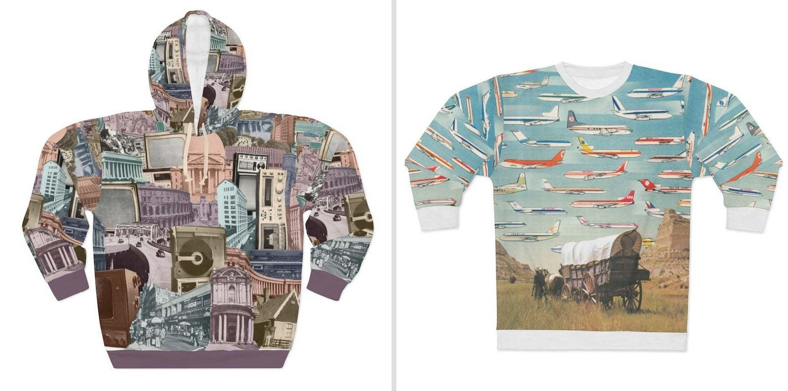 Morgan Jesse Lappin's New Collage Apparel Line on Etsy