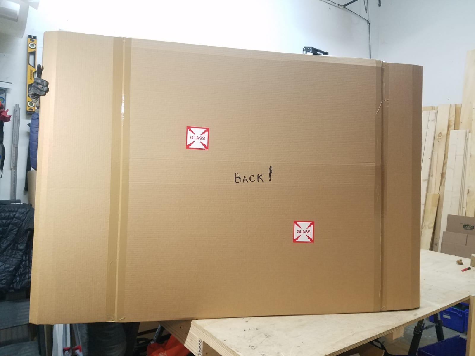 Fine art packing
