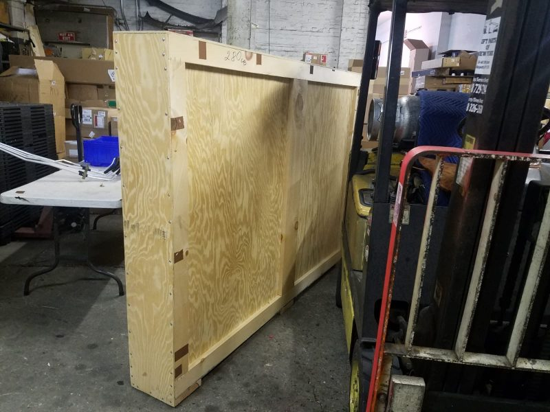 Fine art packing and crating services