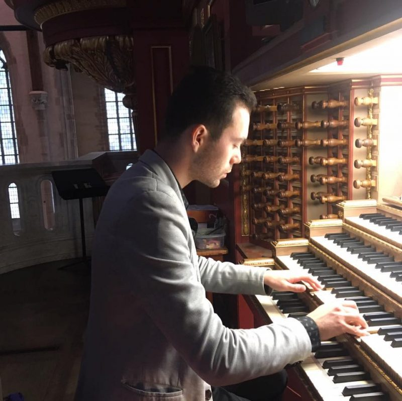 Nikita Morozov – A Talented Organ Player from Moscow