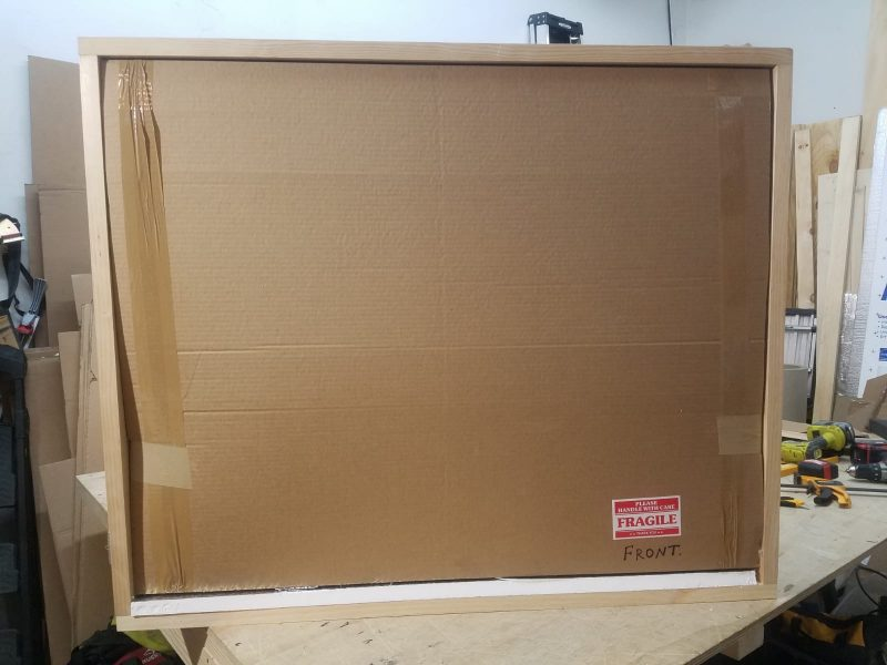 Fine art packing and crating