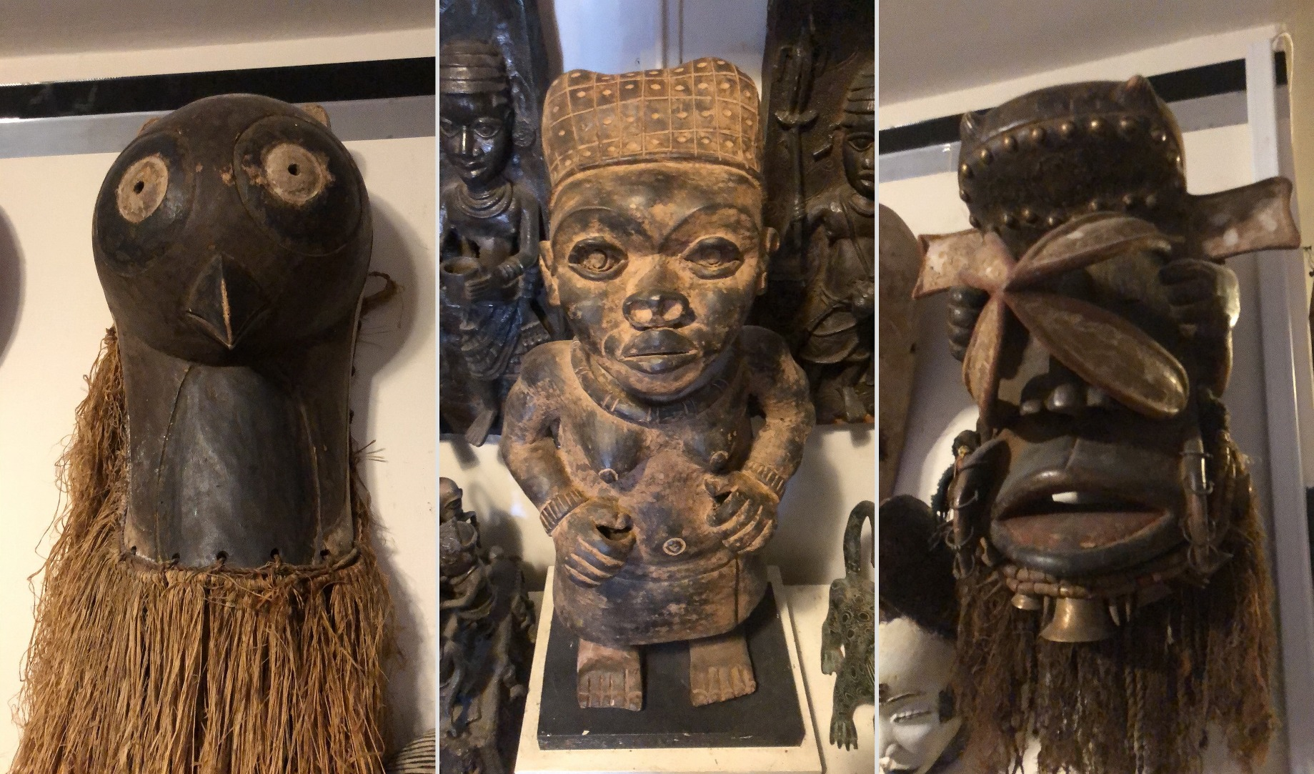 Antique Delivery Service, or How to Move a Collection of African Art