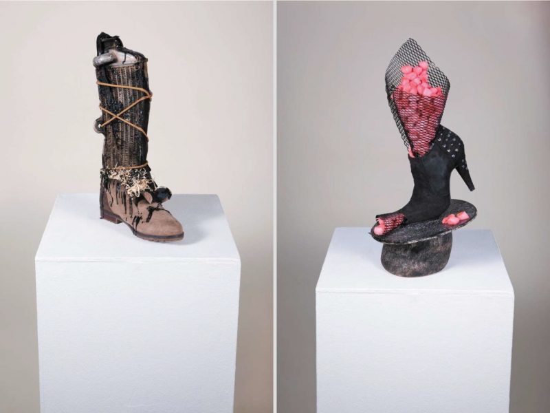 Elena Ennikova Creates Fascinating Sculptures Inspired by Shoes