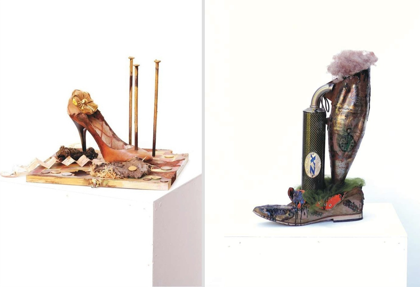 Elena Ennikova Creates Fascinating Sculptures Inspired by Shoes