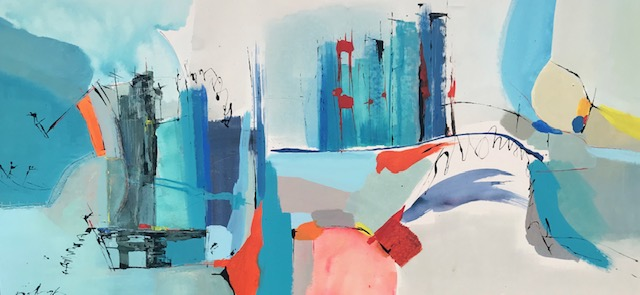 Figurative and Gestural Abstraction in the Work of Gisela Gaffoglio