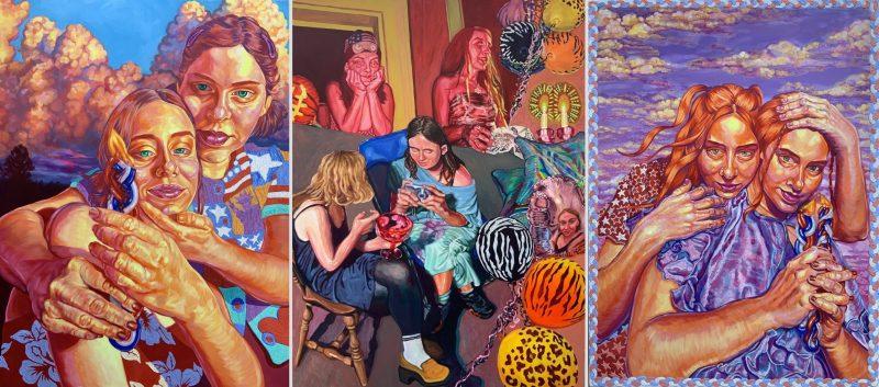 Portraits of Sadness, Emotion & Joy in the Work of Hannah Reinhard