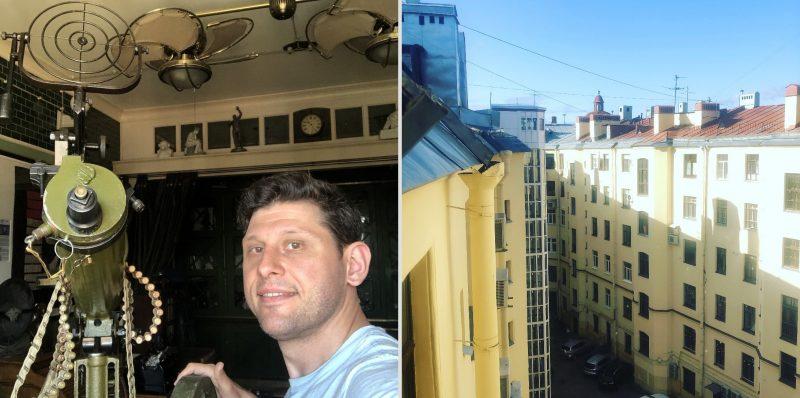 Sergei Bobovnikov's Apartment