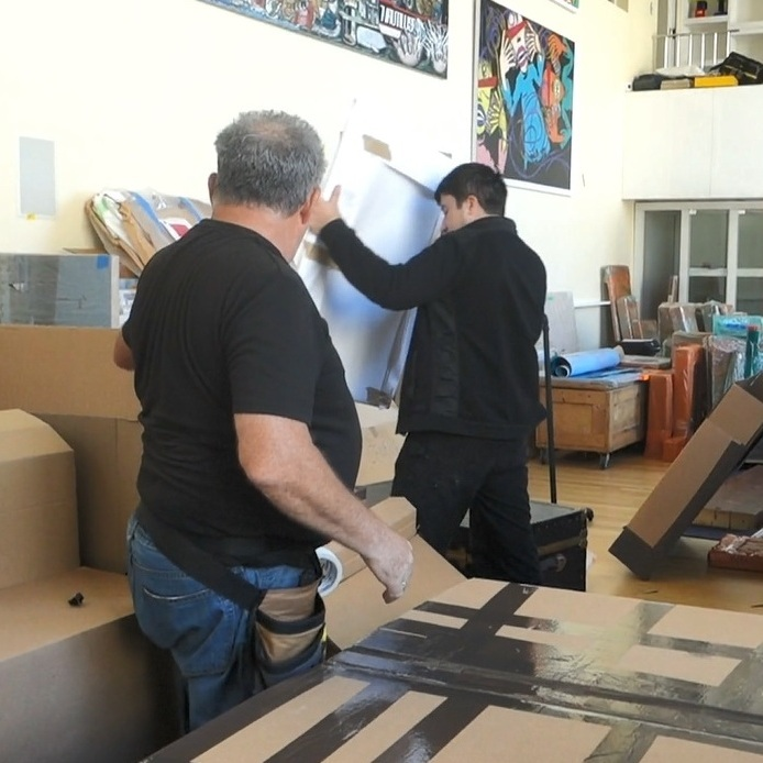 Professional Fine Art Shipping in NYC