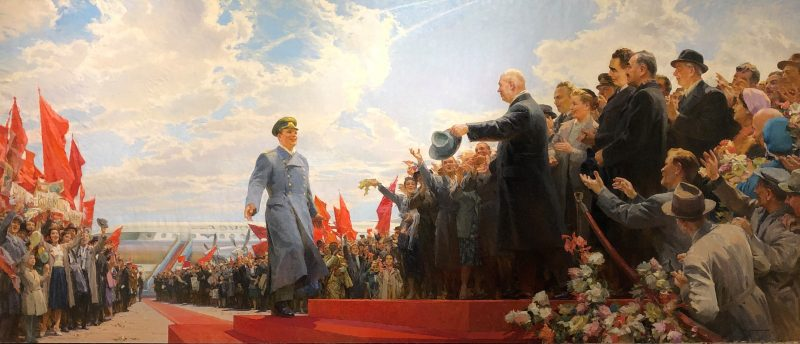 Leaders and the Masses: Mega Paintings from Soviet Ukraine at TMORA