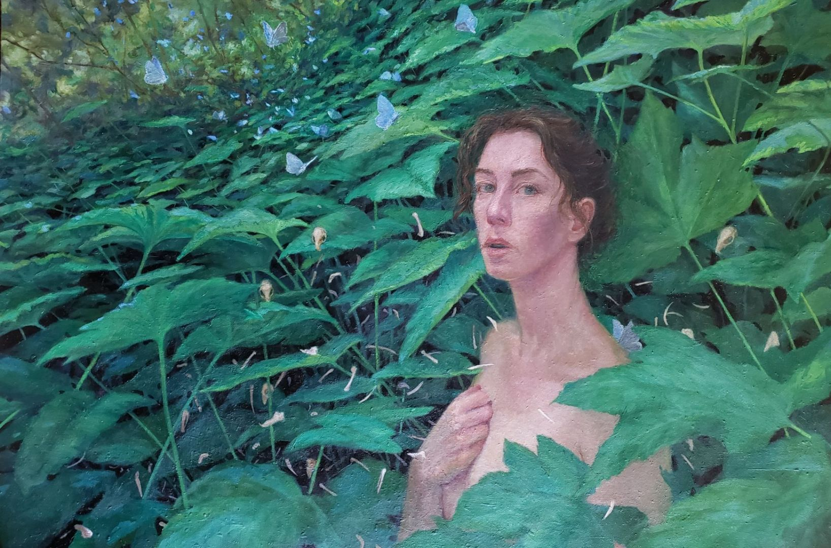 Contemporary Realism in the Work of Leona Gamble