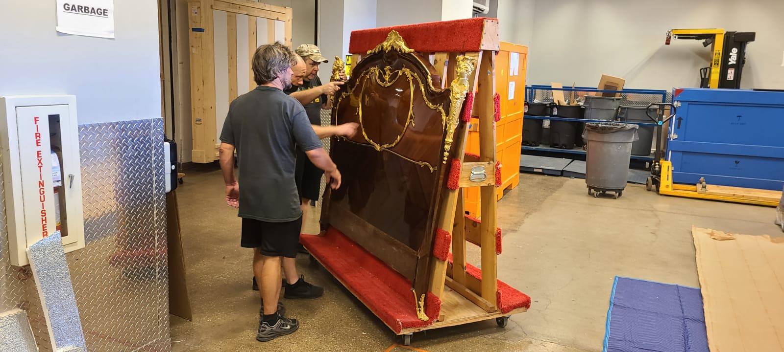 White Glove Transportation of Antique Furniture