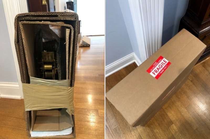 Art Services in New York: Shipping Grandfather Clocks