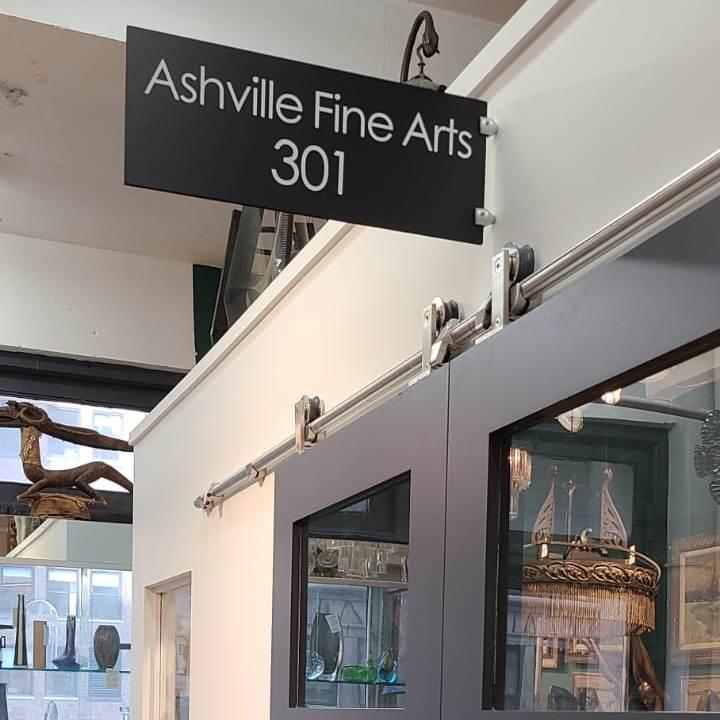 The Amazing Ashville Fine Arts at Showplace Antique + Design Center