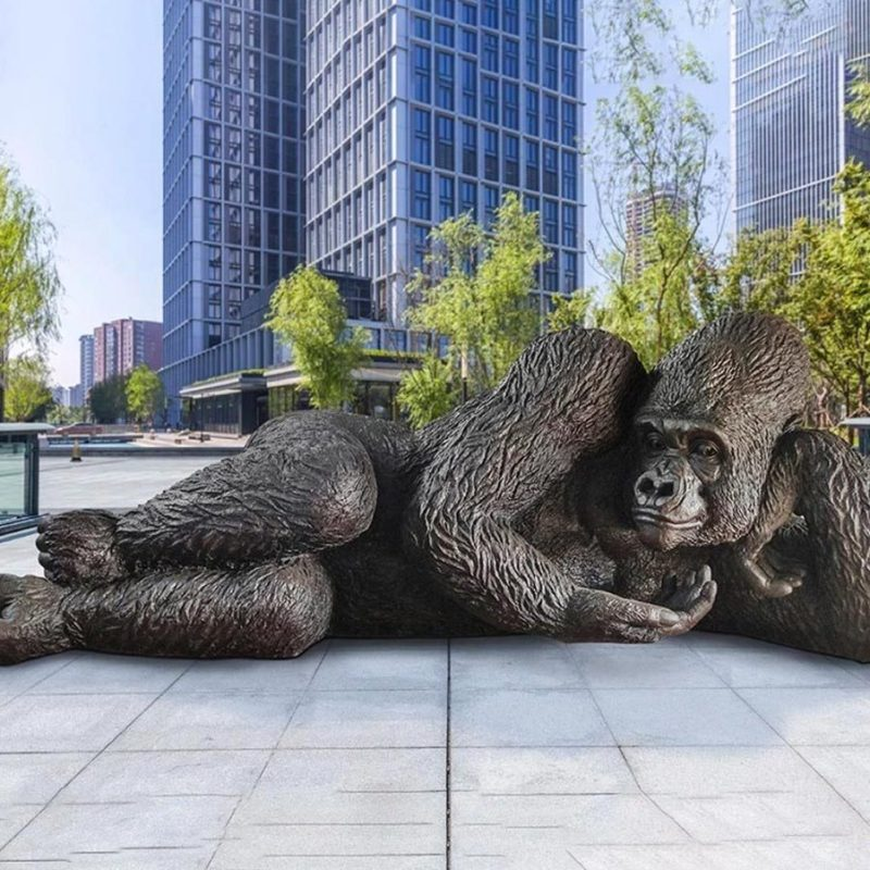 King Nyani: The Largest Bronze Gorilla in the World
