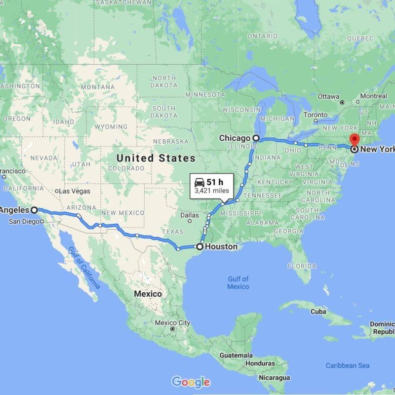 Art Shuttle Los Angeles – New York Will Leave on October 28