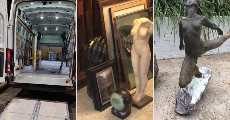 Transportation of Art & Antiques Is Our Specialty