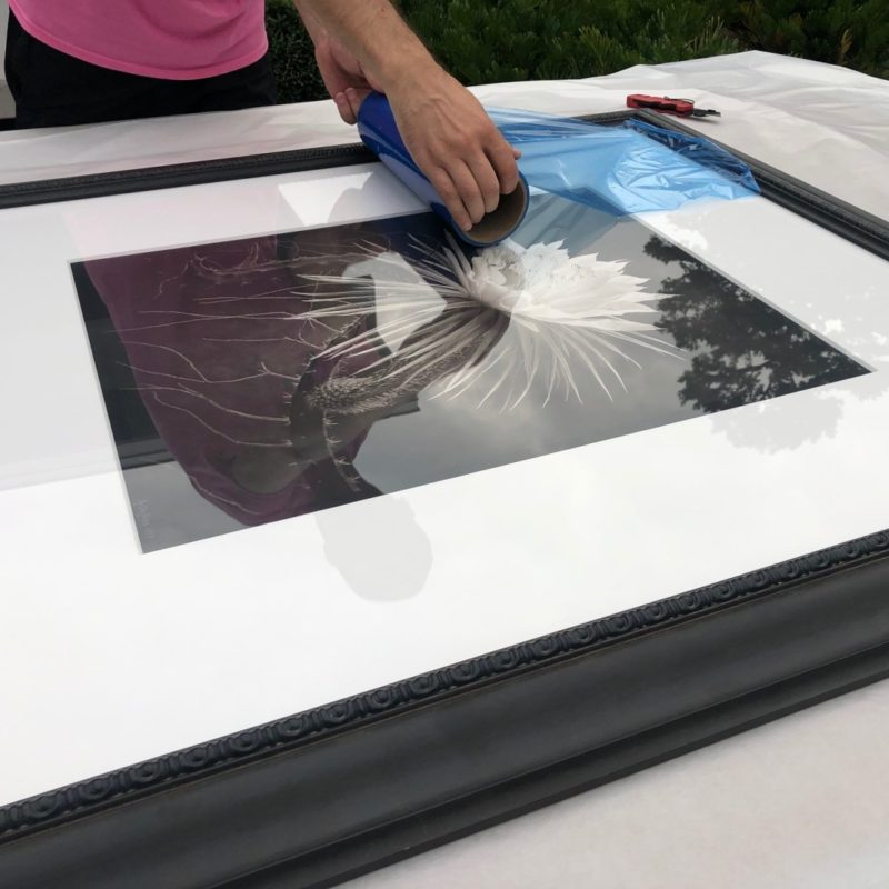 How to Ship Art Framed with Glass?