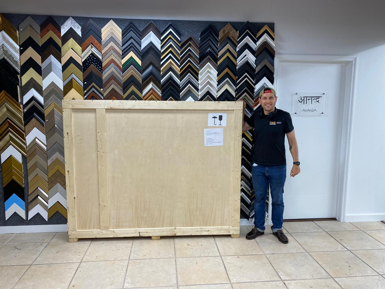 Expert Art Services in NYC: Crate Fabrication