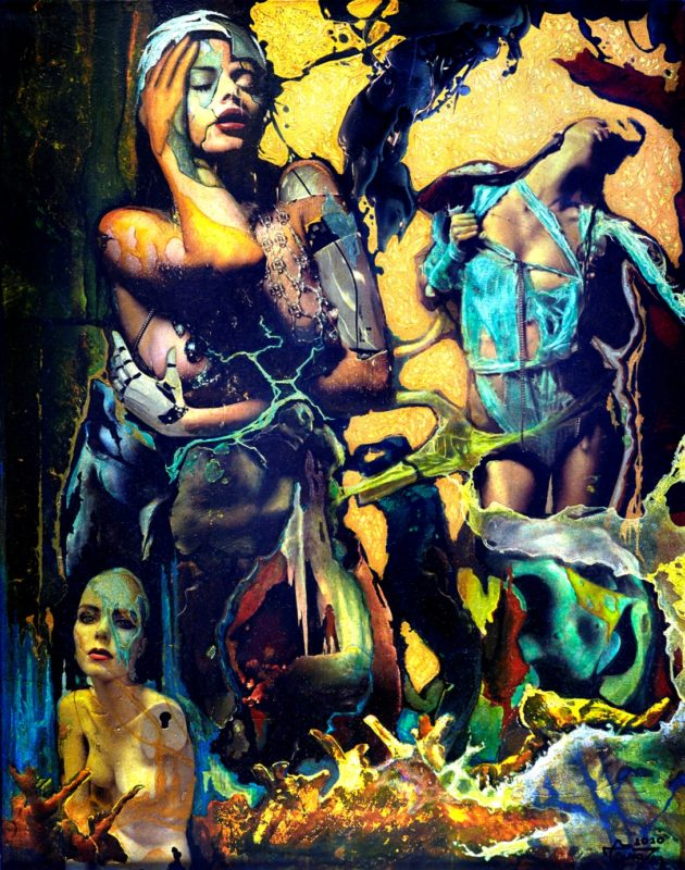 Introducing New Paintings by the Romanian Artist Cezar Ungureanu