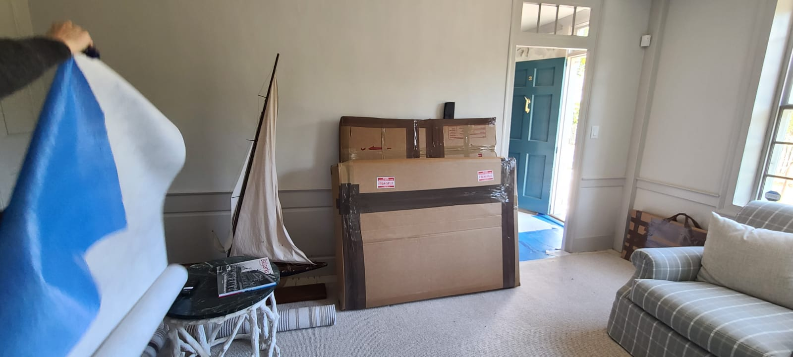 Fine Art Deliveries to Nantucket, Martha's Vineyard & Cape Cod