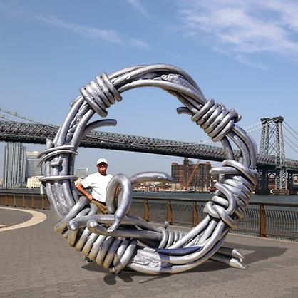 Fascinating Knot Sculptures by Mel Hantz
