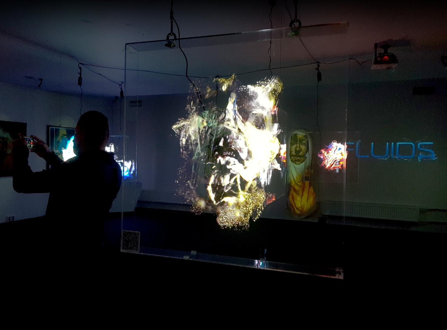 """FLUIDS: A Meta-Connection of Art and Technology"" by Evgeniya Maltseva"