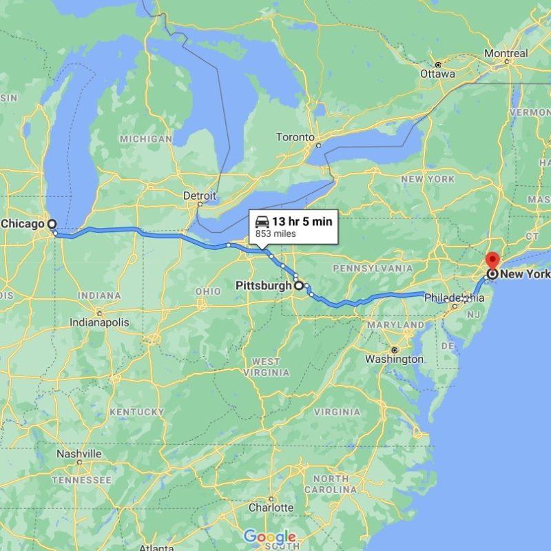 Art Shuttle Chicago – New York Is Leaving on December 23