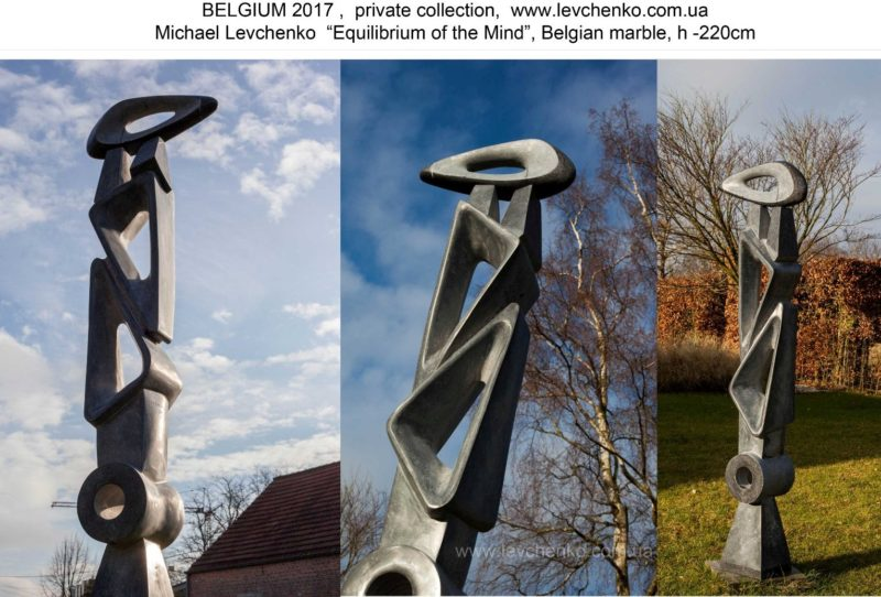 Michael Levchenko – A Talented Abstract Sculptor from Ukraine