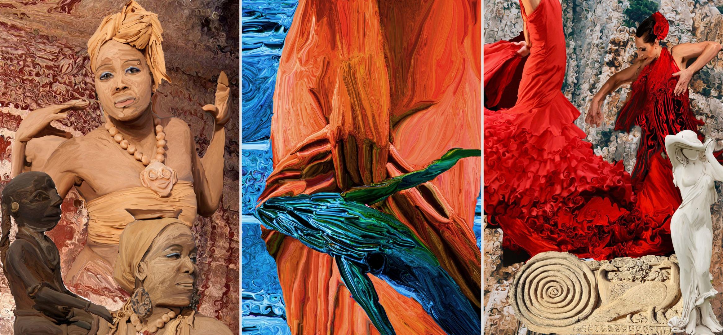 Anmol Mathur – A Talented Indian Artist Creating Fluid Digital Art