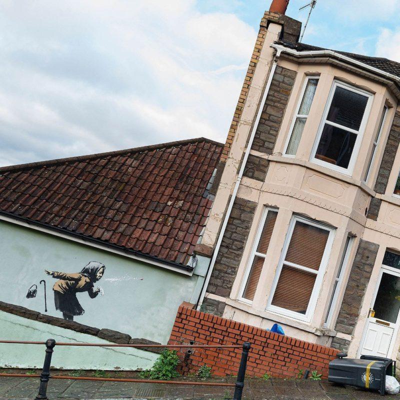 Aachoo!! – The Newest Banksy Mural in Bristol