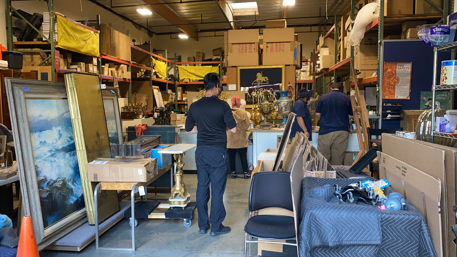 Antique Shipping Services in California