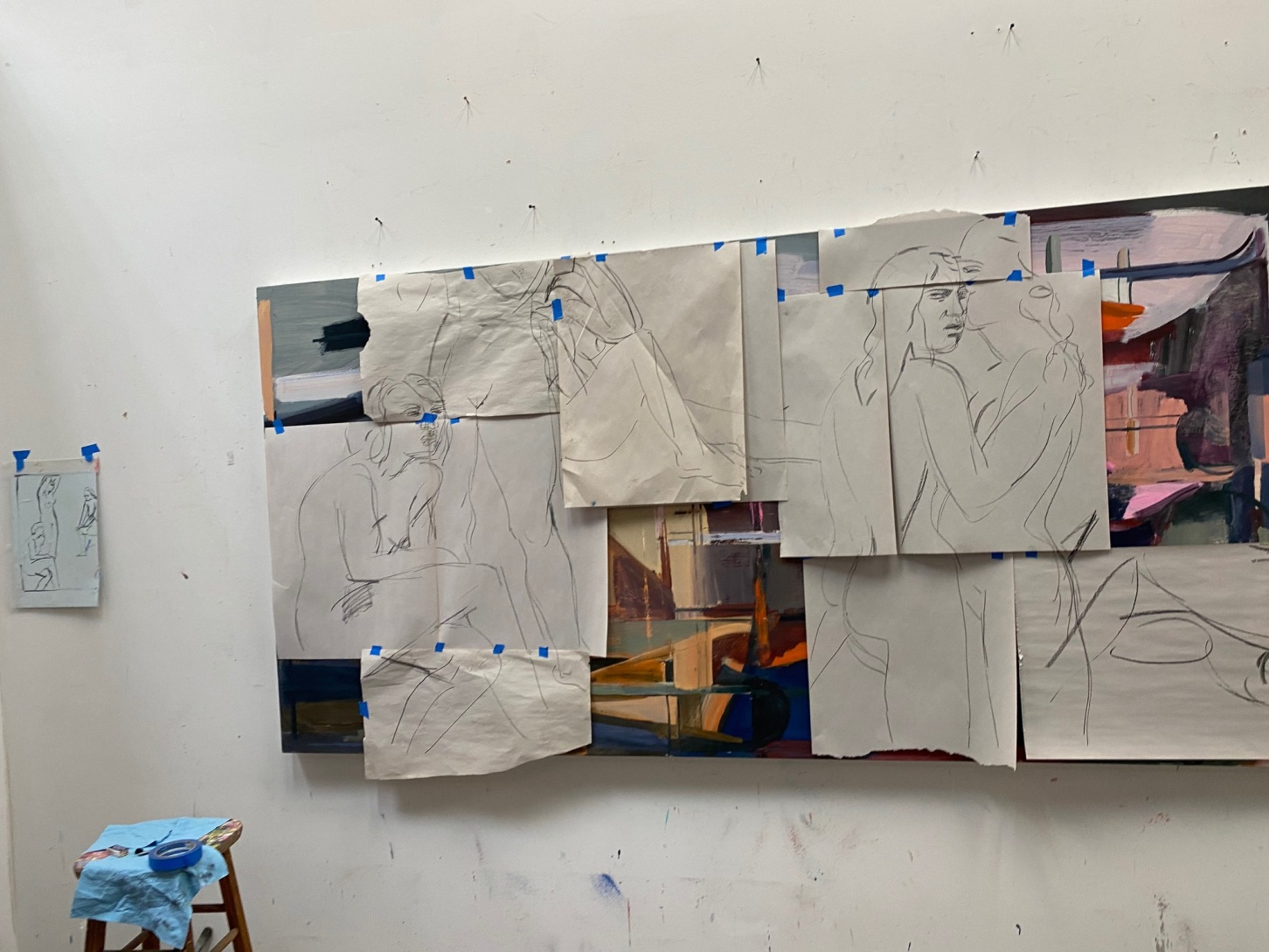 Shipping Paintings by the Talented LA-Based Artist Sarah Awad