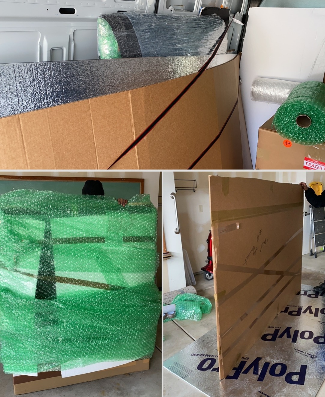 Packing & Moving Fragile Glass and Art Objects