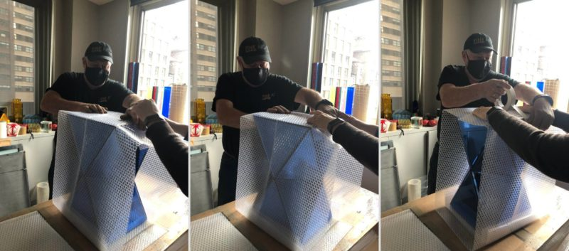 How to Safely Pack and Ship Glass Art?