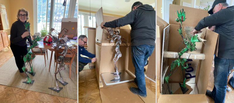 How to Pack and Ship a Sculpture of a Bizarre Shape