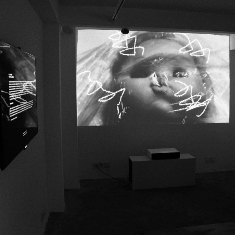 Aberration of Inner Child: Glitch Video Art by Arezou Ramezani