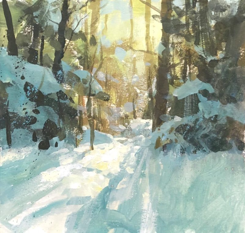 Compelling Landscape Paintings by Tad Retz
