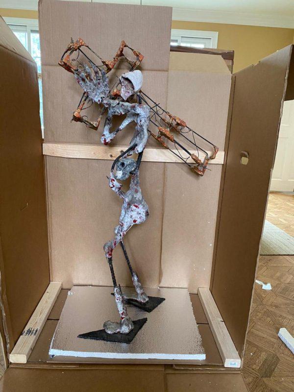 Sculpture packing