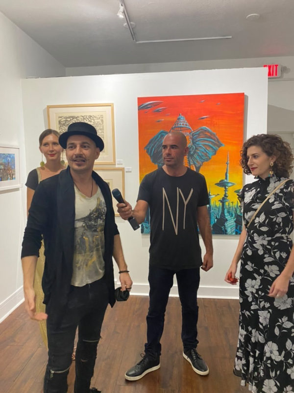 """Artem Mirolevich's Art Exhibition """"Mothership"""" at Denis Leon Gallery"""