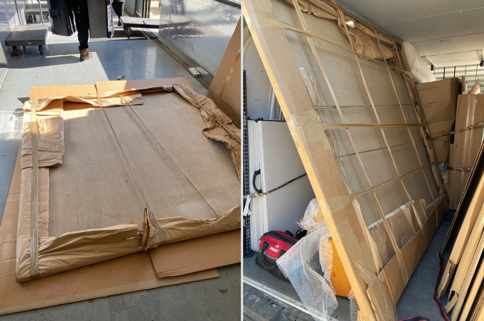 Packing and Shipping Oversized Art Pieces