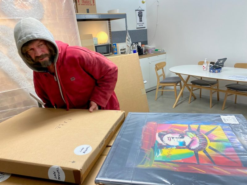 Interstate Art Delivery in Collaboration with Fisk Fine Art Services