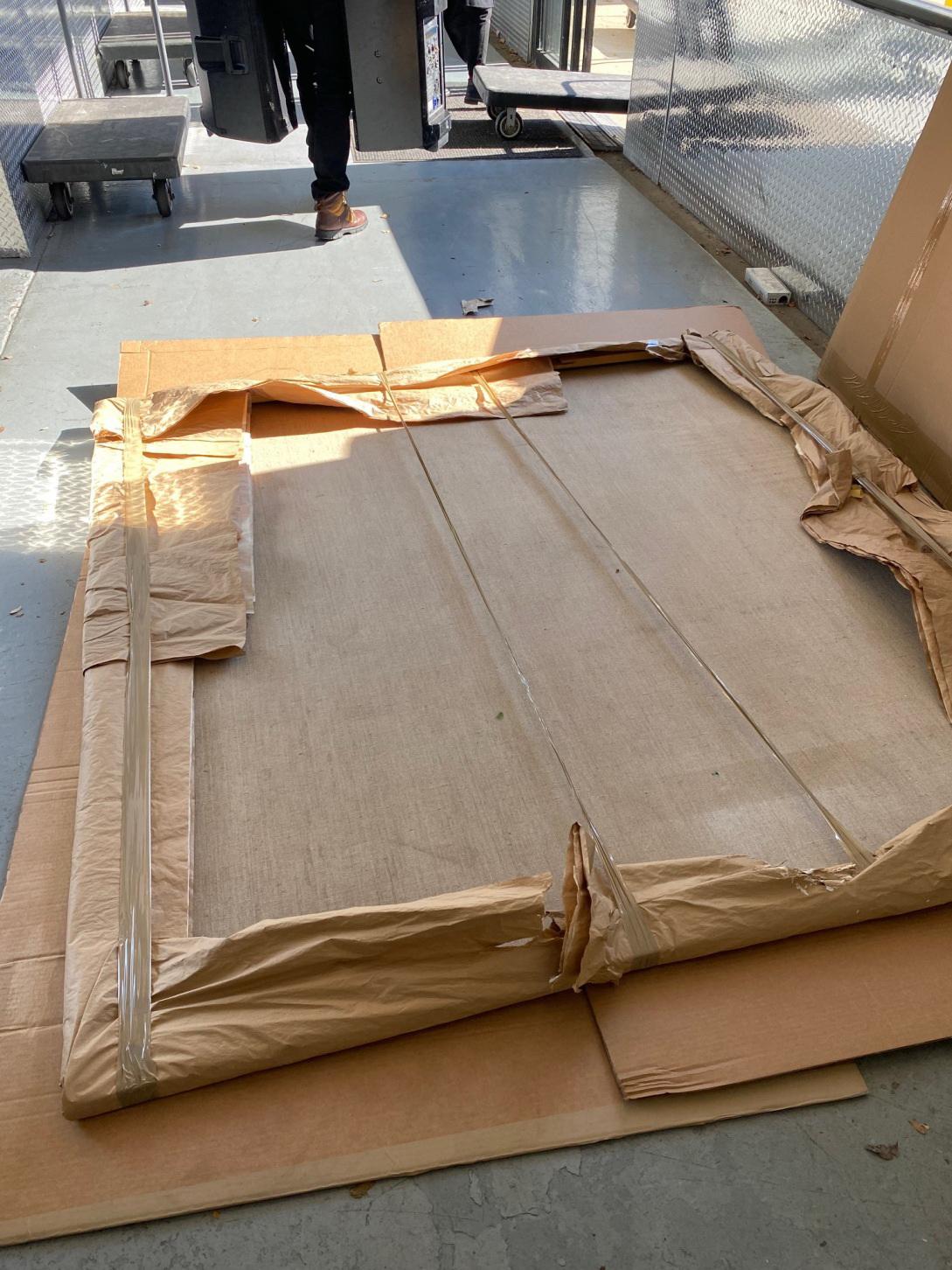 Shipping oversized art