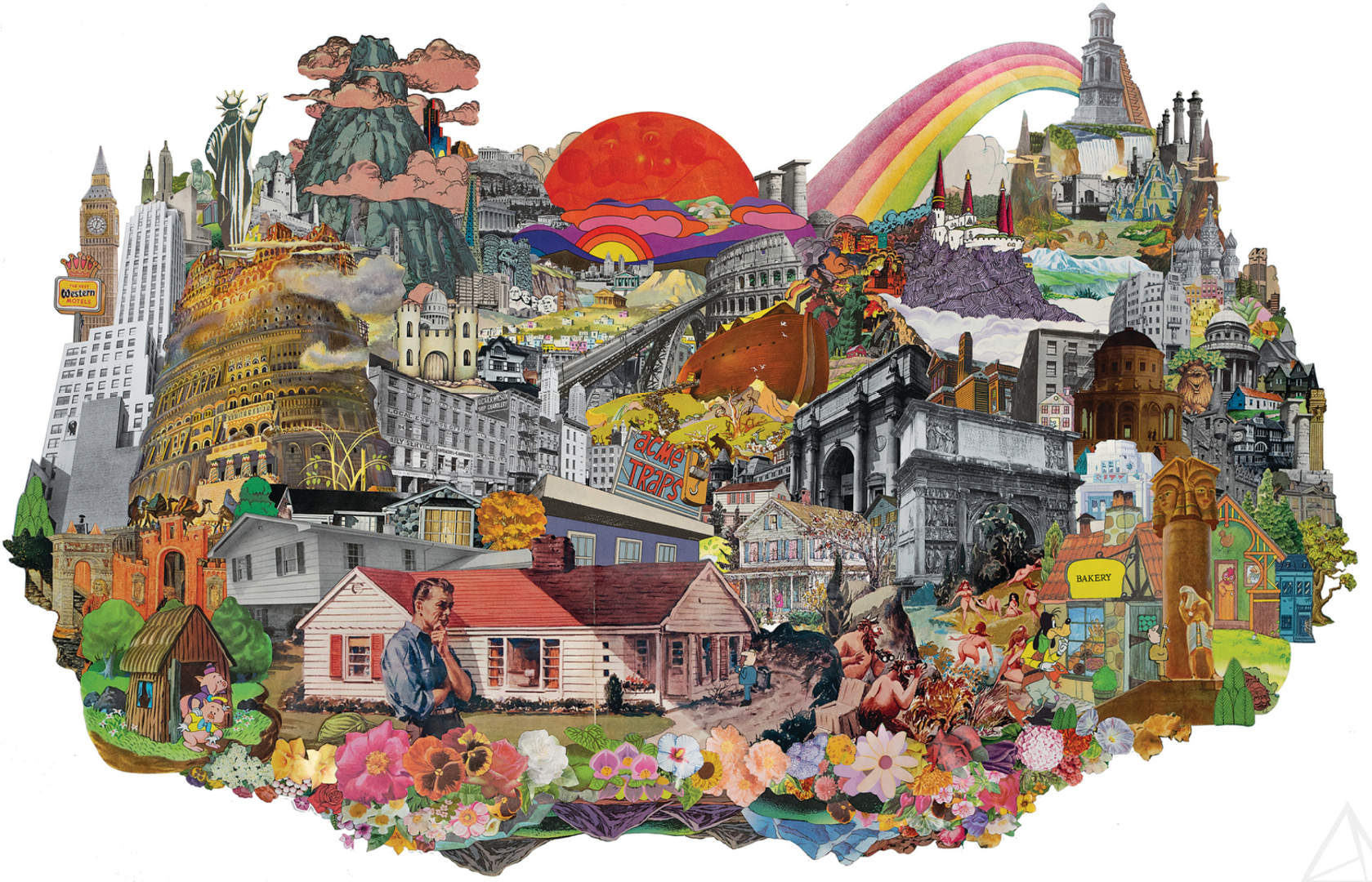 """Morgan Jesse Lappin's New Art Show """"High on Collage"""" Opens March 22"""