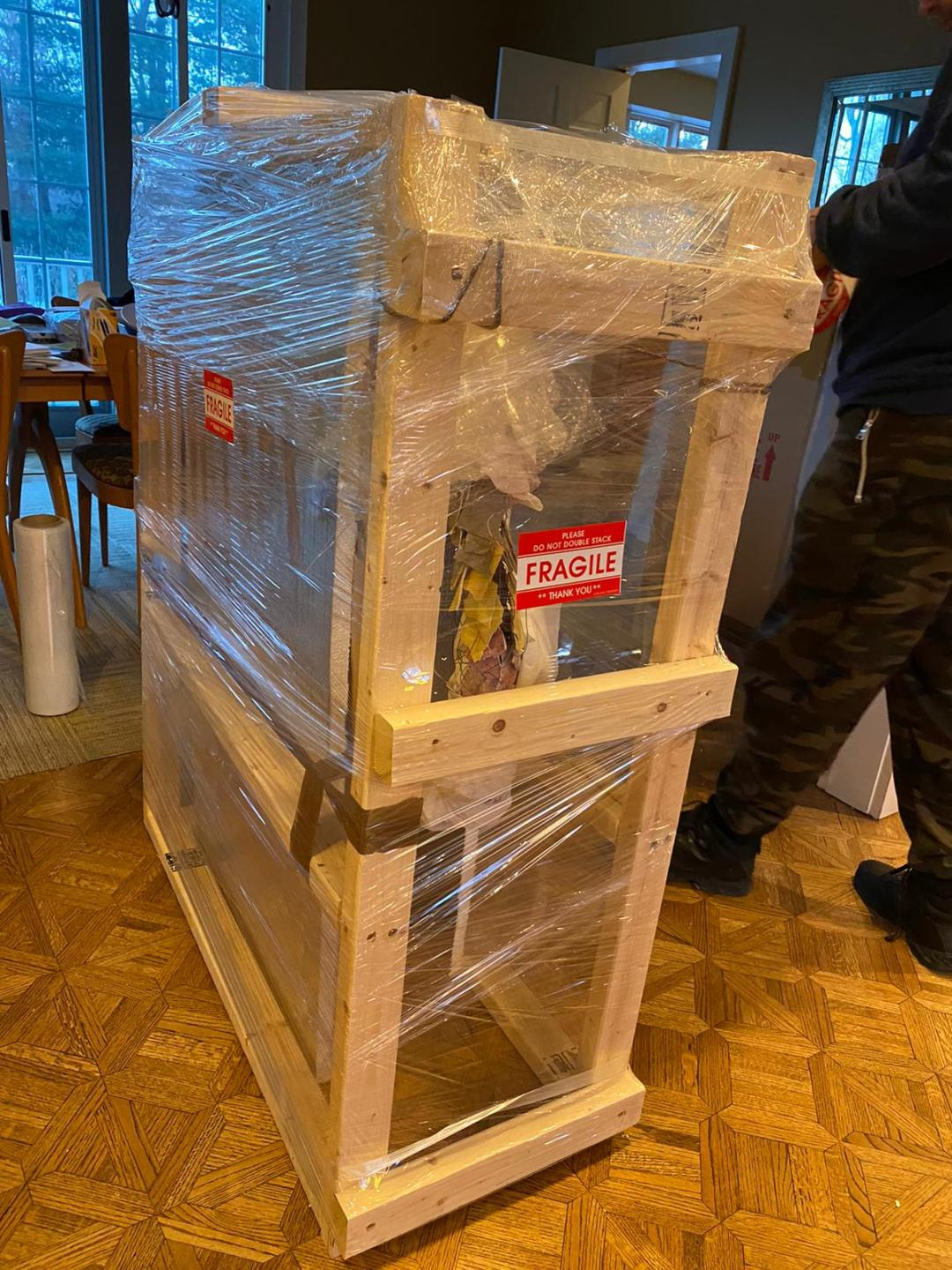 Packing and Shipping Unusual Artworks
