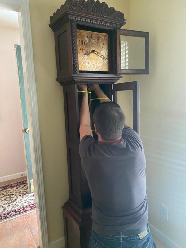 Packing and Shipping a Grandfather Clock